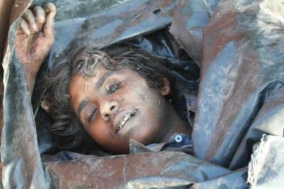 dead corpse face