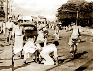attacks 1958 riots