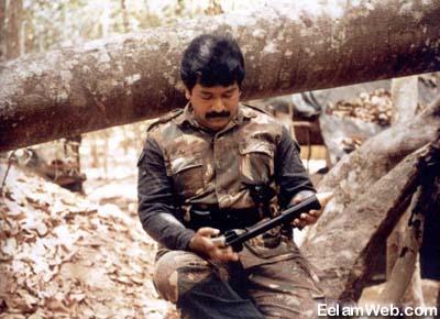 13a--young Prabhakaran warrior