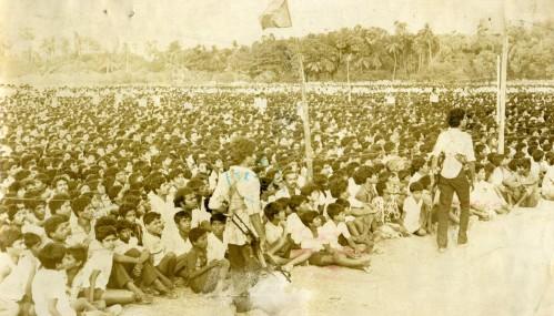24--Tamil mass hears VP, 1987