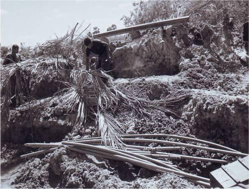 8-- ditches debris