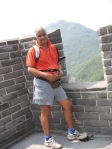 Mike at great WALL
