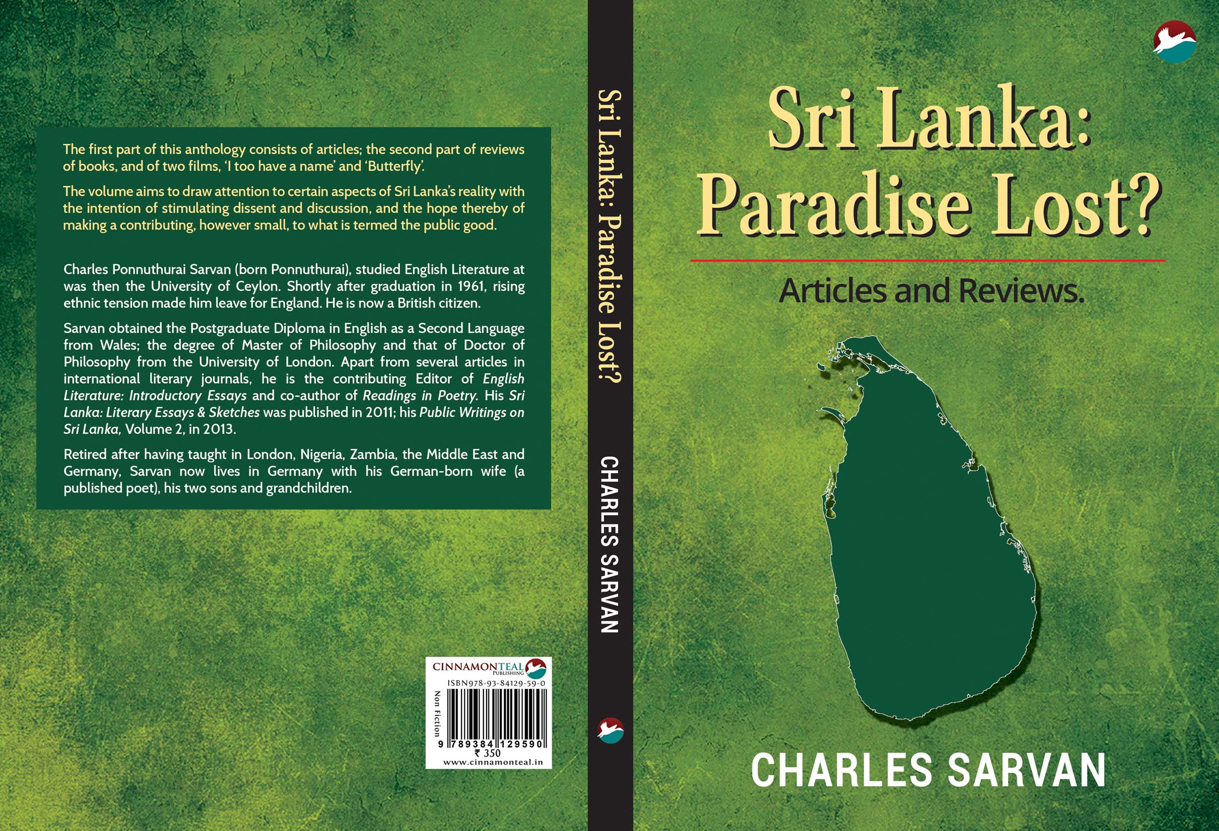 Rural Development In India Essay Charles Sarvans Essays In Sri Lanka  A Paradise Lost Future Plan Essay also Essay On How I Spent My Holidays Charles Sarvans Essays In Sri Lanka  A Paradise Lost  Thuppahis  Quality Essays