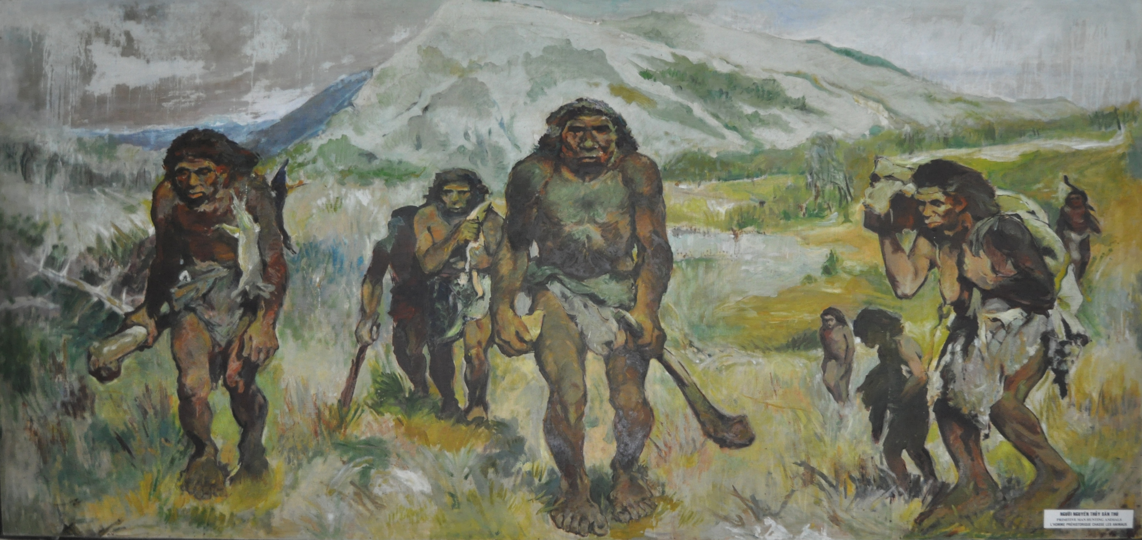 early history of man The earliest hominids probably lived in the tropical rainforests of east and north  central africa at the time, the earth's climate, though warmer than today, was.