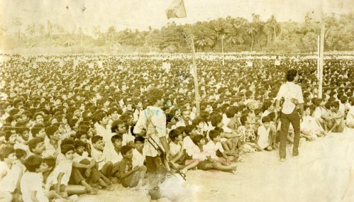 24--Tamil mass hears VP, 1987