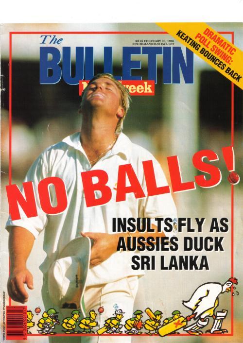 BULLETIN NO BALLS