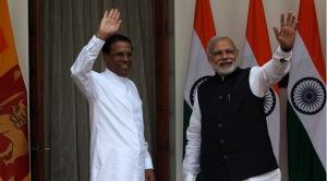 mODI SIRISENA -INDIAN EXPRESS
