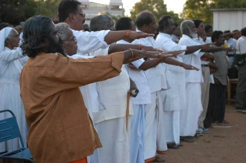 55. TNA adopts LTTE salute at Pongu Thamil