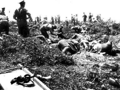 burying dea gallipoli
