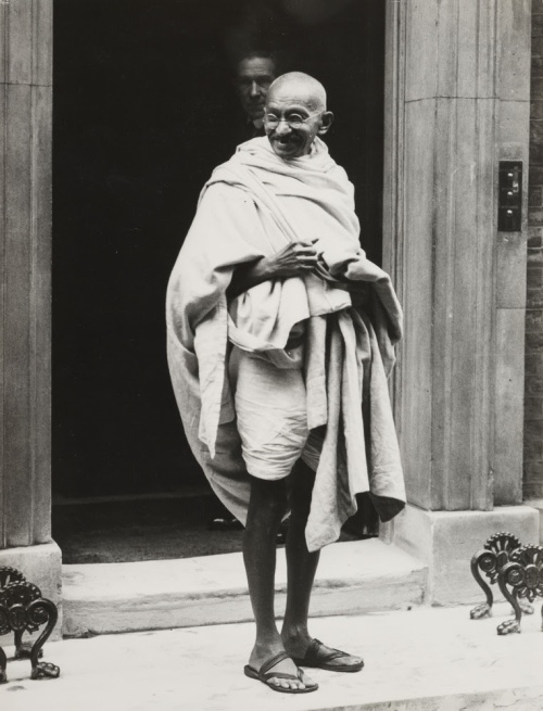 Gandhi at downing st