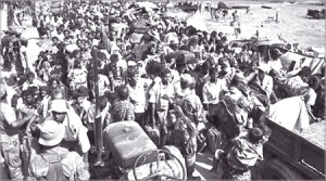 IDPs AT REAR-lKE HOUSE