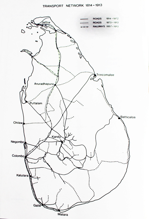 2 = Road & rail Network