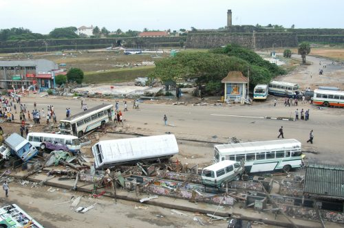 after Tsunami -ckt gd & bus stand