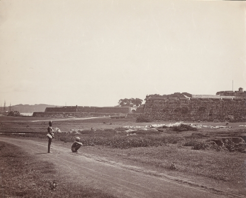 Fort ramparts 1890s