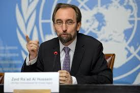 Zeid finger wagging
