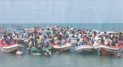 c1.1 Tamil refugee BOATS