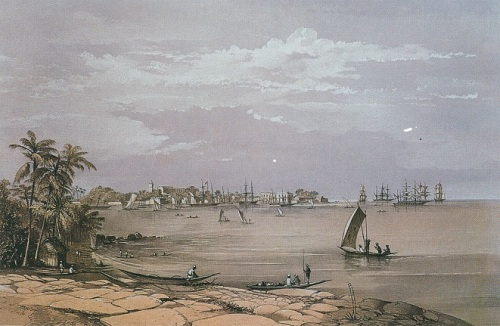 colombo harbour from Mutwal