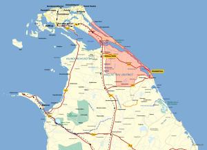 MAP 1-War Situation-2 Jan 2009