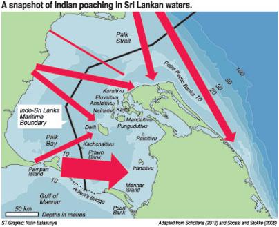 Addressing the fishing dispute between indians and sri lankans aa poaching sinhalanet altavistaventures Images