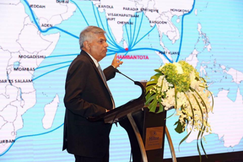 ranil at HAMBANTOTA
