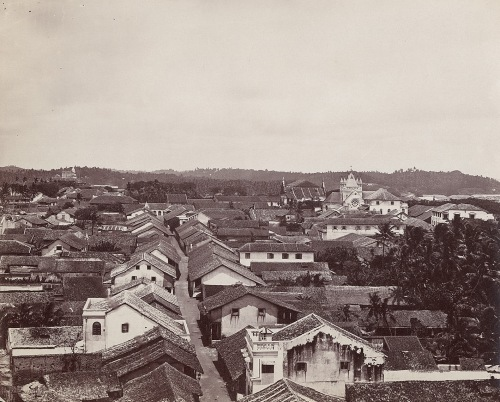 Galle Fort - rooftops