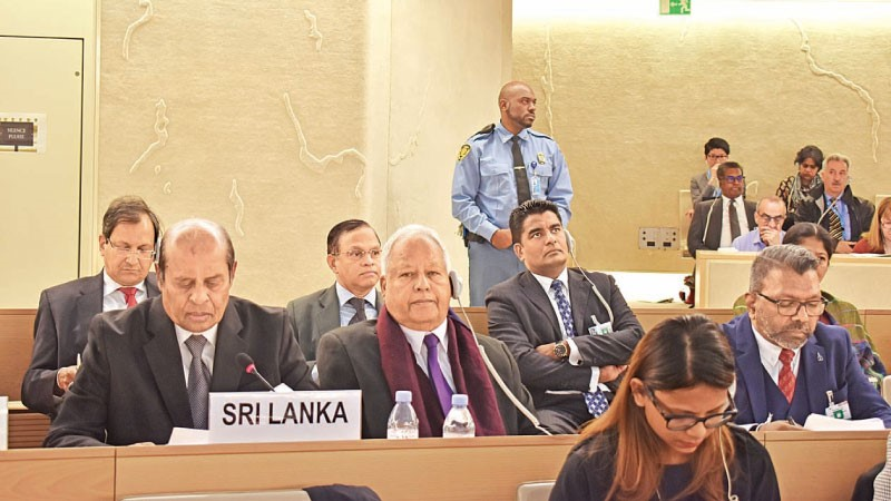 Sri Lanka Government's Position at UNHRC Ballet in Geneva