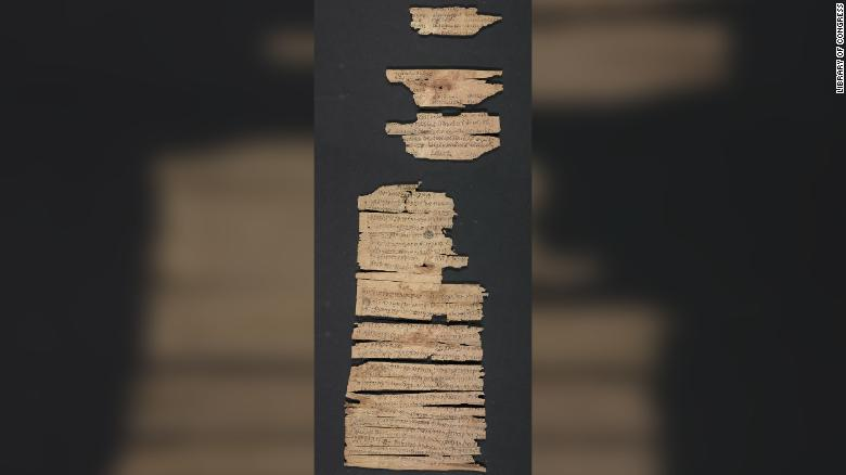 2000-Year Old Buddhist Scroll from Gandhara Now in Public