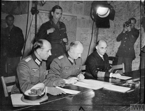 Nazi surrender date